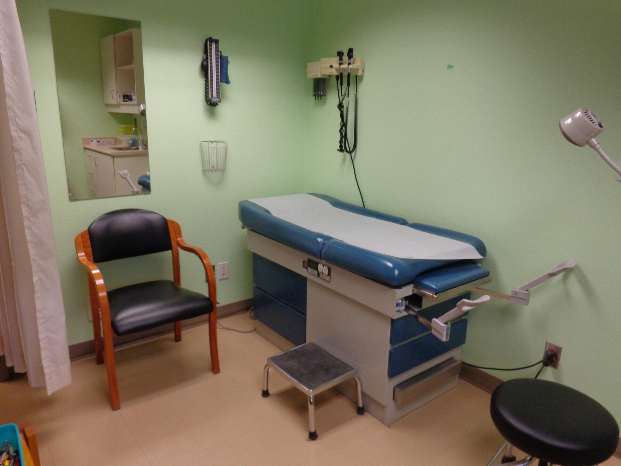 Doctors exam room