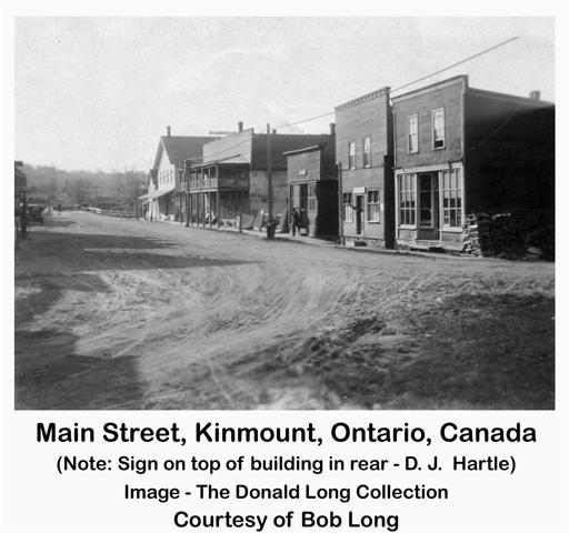 view of historic main st kinmount