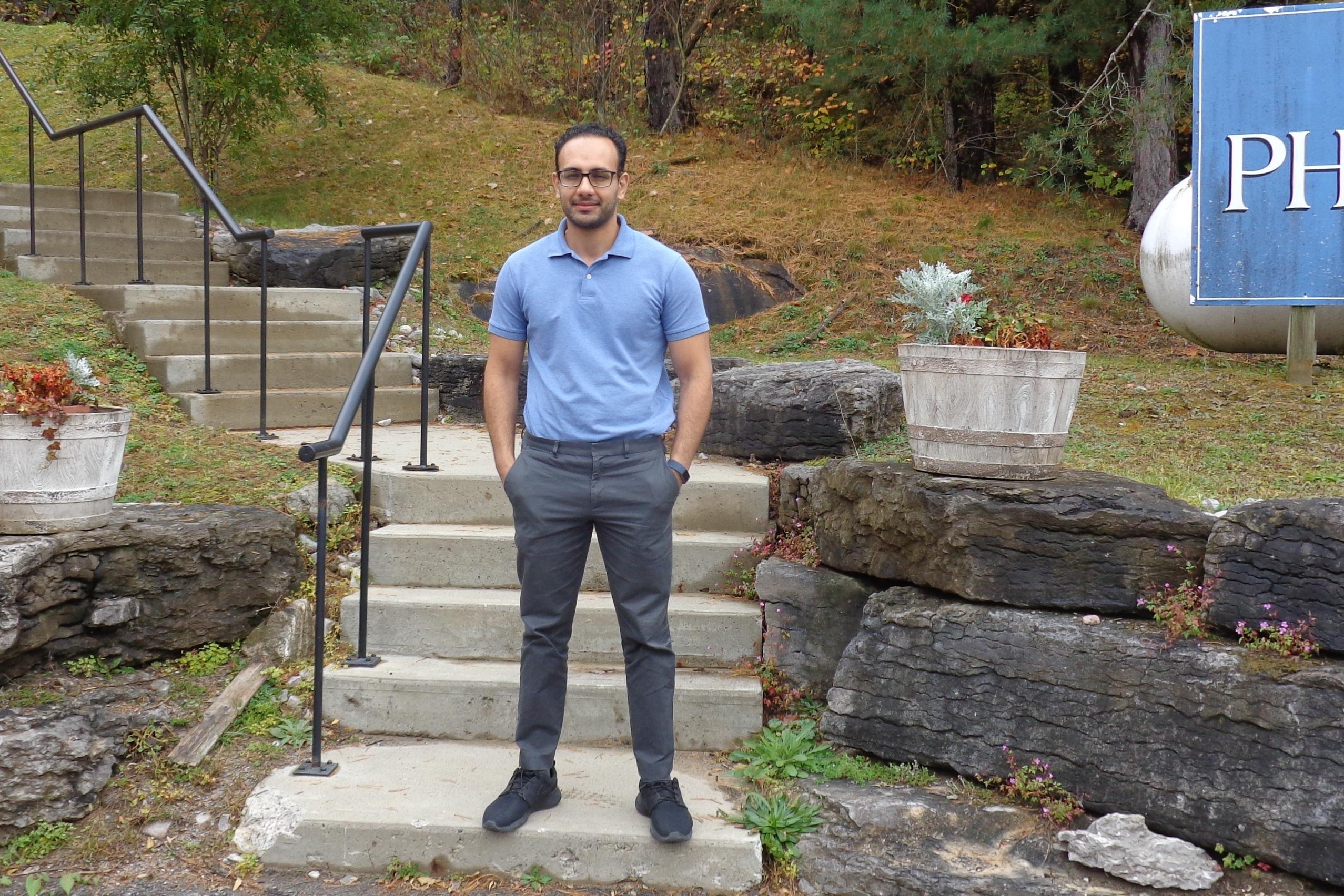 Sam Iskander, Pharmacist outside of KDHC